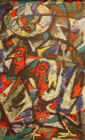 Abstraction: Birds, 1952