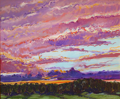 Sunset, 1993